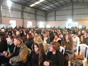 Las personas presentes en el encuentro