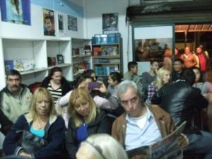 El publico presente