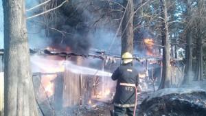 Foto: omar Leon, Incendio en el vivero, Foto