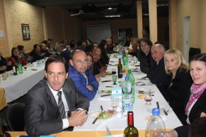 Ariel Sujarchuk invitado en el evento
