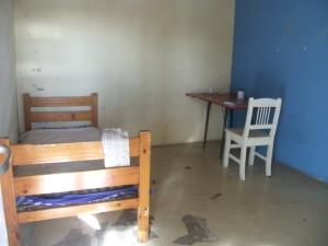 La habitación donde estuvo Ludmila