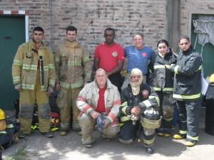 El grupo de Bomberos de Brasil.