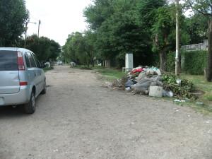 La basura en La Madrugada