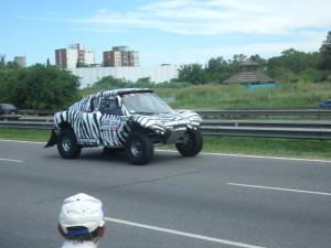"""El auto denominado """"La Cebra"""""""