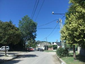 Una de las cámaras en Peirano y Montevideo