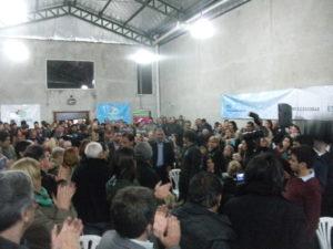 Asociación Italiana de Garin colmada