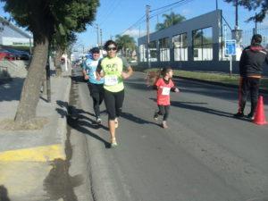Muchos niños participaron de la competencia.