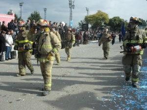 bomberos de Garin