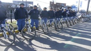 Los bici policias