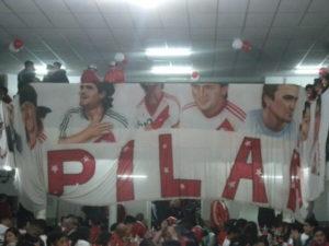 La conocida Bandera de Pilar