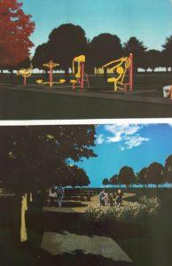 Otro sector del parque