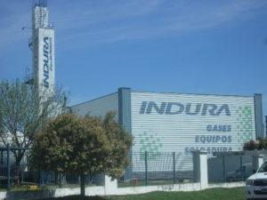 La empresa en el Centro Industrial de Garin